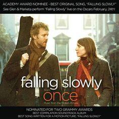 I just used Shazam to discover Falling Slowly by Glen Hansard & Marketa Irglova. http://shz.am/t45124723