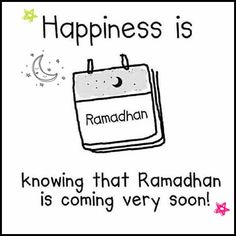 In Syaa a'Allah we meet Ramadhan this year.