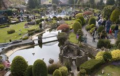 Bekonscot miniature village at Beaconsfield, England.