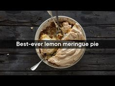 This easy lemon meringue pie recipe has been passed down for generations. It's unbelievable easy to prepare, and undoubtedly foolproof.
