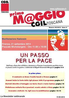 La News Letter Settimanale della Cgil Regionale Toscana