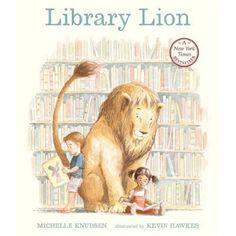 Library Lion(Michelle Knudsen)