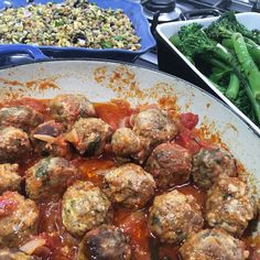 Meatballs grain salad and broccolini #meatballs #grains #salad #broccolini #dinner #melbournefood #yum #melbourneats #melbourne #instalike #instafood #melbournefoodie #instapic #instafollow #italian #italianfood #italiancooking #cooking #homemade #delicious #picoftheday #food #foodie #foodporn #foodgasm #photooftheday by carmelvalvo