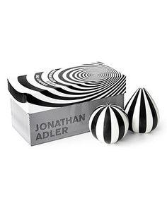 Jonathan Adler Salt and Pepper Shakers, Striped - Serveware - Dining & Entertaining - Macy's