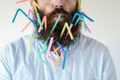 Beard and Straws