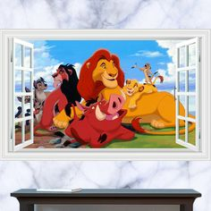 Use a Lion King Wall Graphic to bring fun, creativity and energy into a themed space. Check out these affordable home decor options today...