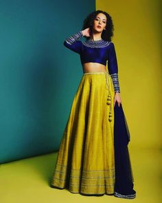 Buy beautiful Designer fully custom made bridal lehenga choli and party wear lehenga choli on Beautiful Latest Designs available in all comfortable price range.Buy Designer Collection Online : Call/ WhatsApp us on : Indian Fashion Dresses, Indian Bridal Outfits, Indian Gowns Dresses, Dress Indian Style, Indian Designer Outfits, Designer Dresses, Pakistani Outfits, Half Saree Designs, Lehenga Designs