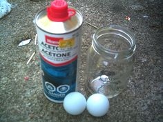 How to make cheap Nitrocellulose from ping pong balls, black powder, and acetone for use in igniters and detonators.