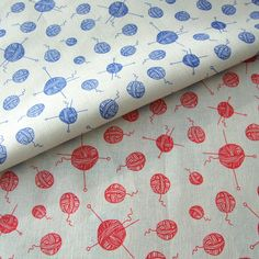 Balls of yarn fabric :D