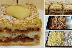 Scattered cup cake with apples Scattered cup cake with apples Easy Cake Recipes, Desert Recipes, Bakery, Brunch, Food And Drink, Sweets, Bread, Apple, Snacks