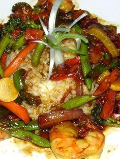 Amazing Pinterest world: Shrimp And Vegetable Stir-fry