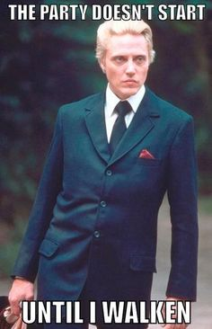 How many Christopher Walken puns can I fit into a single folder?