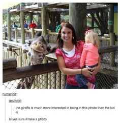 When they found this lovely giraffe.