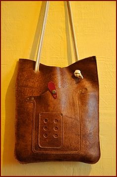 8) Leather Crossbody Bag, Leather Purses, Leather Backpack, Leather Wallet, Leather Bag Design, Hippie Purse, Diy Purse, Leather Bags Handmade, Simple Bags