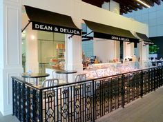 Dean & Deluca for its spaciousness and modern design and the bright appearance of the place