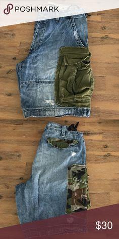 Ralph Lauren denim supply jean cargo shorts 36 Ralph Lauren denim supply jean cargo shorts size 36 Denim & Supply Ralph Lauren Shorts Cargo
