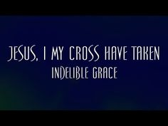 """Jesus, I My Cross Have Taken words by Henry Lyte music by Bill Moore performed by Indelible Grace on """"The Hymn Sing: Live In Nashville"""" 2010 Indelible Grace . Gospel Music, Music Lyrics, Music Songs, New Music, Music Videos, Praise Songs, Praise And Worship, Grace Music, Grace Youtube"""