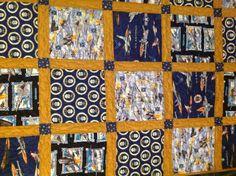 Air Force quilt.