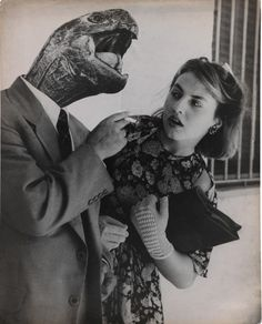 Grete-Stern, Dream No. 28: Love Without Illusion, 1951.