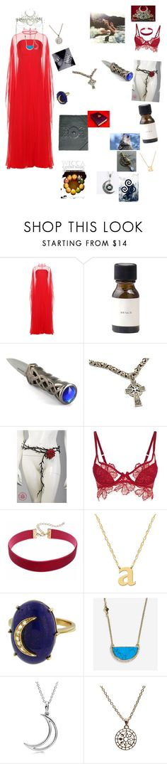 """The queen of the pack"" by omegafphie2121 ❤ liked on Polyvore featuring Valentino, Burton, Agent Provocateur, Jane Basch, Andrea Fohrman, Cole Haan, Allurez and Puck Wanderlust"