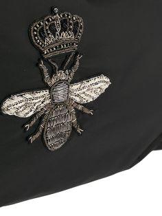 Dolce & Gabbana рюкзак с аппликацией пчелы