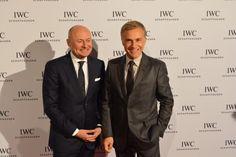George Kern and Christoph Waltz at Zurich Film Festival 2015