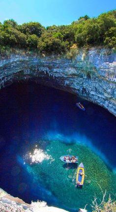 #Melisiani_Lake, #Kefallonia, #Greece http://en.directrooms.com/hotels/subregion/2-55-1352/