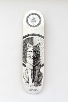 Canis - Peter Carrington #Sovrn, #skateboard #losangeles #design #art #illustration #graphic #skateboarding #skateboards