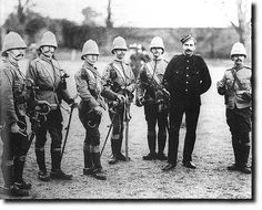 Life Guards During the Boer War British Army Uniform, British Soldier, Man Of War, Army & Navy, British Colonial, History Photos, African History, Military History, World History