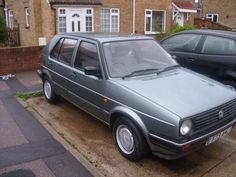 This was my VW Golf Diesel. The actual car that  I owned.