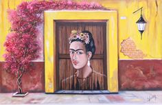 Título: La Casa de Frida. Autor :Cecilia Alvarez. Impresiones en canvas firmadas por el autor y numeradas. Medidas: Pregunta por el precio.