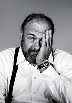 James Gandolfini by Richard Burbridge