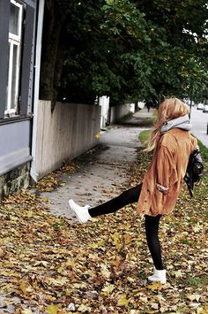 I will always be the girl who goes out of her way to walk on the leaves, just to hear them crunch
