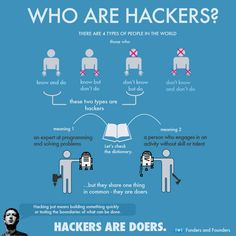 Who Are Hackers? Hackers Are Doers.