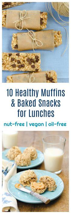 Healthy Vegan Muffins