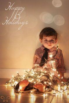 Cute Christmas picture idea!