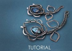 This tutorial on how to create with your own hands a flower necklace of copper wire and bead. Here you do not need expensive cabochon, you can use any drop-shaped bead made of natural stone or glass. Youll learn how to work with copper wire and fix this beads in necklace. This is a