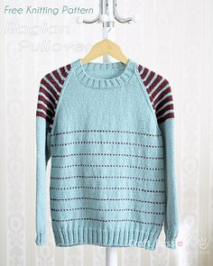 If you have a basic garment knitting experience, this raglan pullover that uses only Stockinette Stitch should be easy as well as a great knitting project for you. Honestly speaking, I find that knitting a plain stockinette stitch garment is a bit boring to me, thus, I applied color work design for this pullover. In this case, adding stripes on both the shoulders, arms and part of the body was my crafty idea. I really love how the effect of the stripes has turned out, not to mention the…
