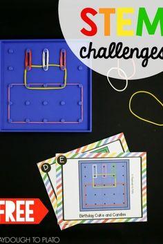 Free Geoboard Challenges