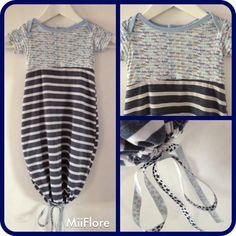 Hybride body-gigoteuse pour nuits d'été - Miiflore couture