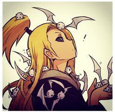 Anime/manga: Naruto (Shippuden) Character: Deidara