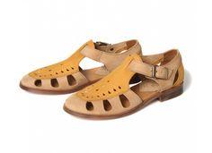 Women's Sherbert (Saffron) Sandals | H by Hudson