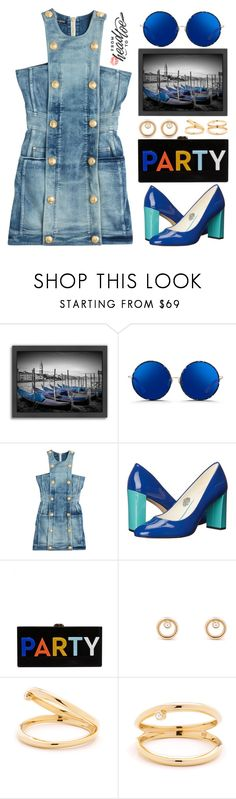 """""""Grace:Jen Chae x Mejuri"""" by grozdana-v ❤ liked on Polyvore featuring Americanflat, Matthew Williamson, Balmain, Anne Klein, Milly, contestentry and jenchaexmejuri"""