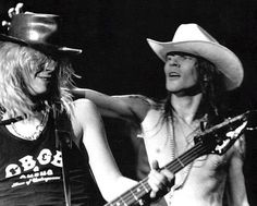 W. Axl Rose, Duff McKagan