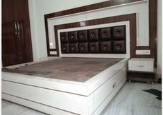 39 Super Ideas for wood working ideas storage doors Indian Bedroom Design, Bedroom Closet Design, Bedroom Furniture Design, Master Bedroom Design, Bed Furniture, Home Decor Furniture, Master Bathroom, Modern Furniture, Simple Bed Designs