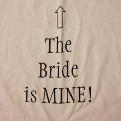The shirt I made for Cody to wear on our wedding day :)