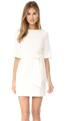 5df02cc23821 alice + olivia Virgil Boat Neck Wrap Dress