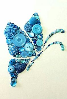 Button Butterfly