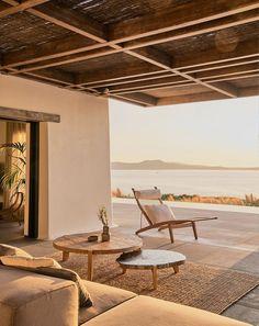 Style At Home, Outdoor Spaces, Outdoor Living, Outdoor Decor, Exterior Design, Interior And Exterior, Stone Interior, Casa Wabi, Studio Build