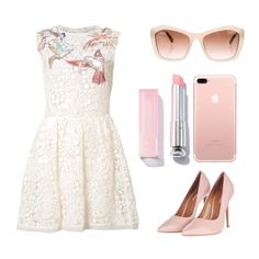 """""""Elegantan Girl"""" by medvedevalala on Polyvore featuring мода, RED Valentino, Topshop и Chanel"""